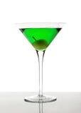 зеленый цвет коктеила Стоковая Фотография