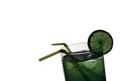 зеленый цвет коктеила Стоковые Изображения