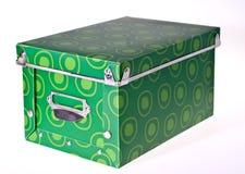 зеленый цвет коробки Стоковые Фотографии RF