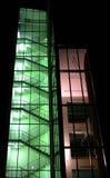 зеленый цвет корридора Стоковая Фотография