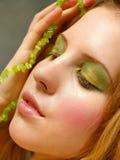 зеленый цвет красотки Стоковая Фотография RF