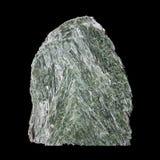 зеленый цвет кристалла actinolite Стоковые Фото