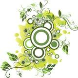 зеленый цвет круга Стоковое Изображение RF