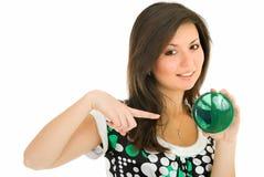 зеленый цвет к Стоковая Фотография RF