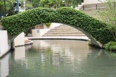 зеленый цвет моста Стоковые Изображения