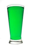 зеленый цвет напитка Стоковое Фото