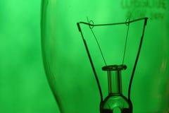 зеленый цвет нити Стоковая Фотография