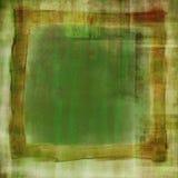 зеленый цвет огорченный предпосылкой Стоковое Изображение RF