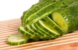 зеленый цвет огурца Стоковое Фото