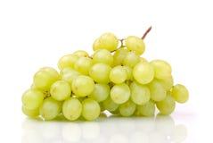 зеленый цвет одно виноградин группы Стоковое фото RF