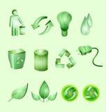 зеленый цвет окружающей среды Стоковое Изображение