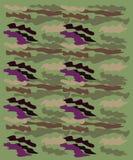 ЗЕЛЕНЫЙ ЦВЕТ орнаментов CAMU дизайна экзотический Стоковые Фото