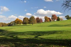 зеленый цвет осени Стоковая Фотография RF