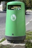 зеленый цвет отброса контейнера Стоковое Изображение RF