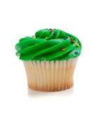зеленый цвет пирожня брызгает белизну Стоковые Изображения RF