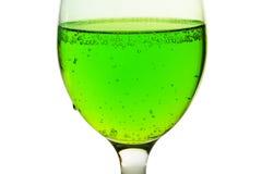 зеленый цвет питья Стоковое Изображение