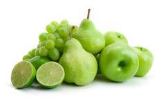 зеленый цвет плодоовощей Стоковое Фото