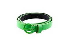 зеленый цвет пояса Стоковое фото RF