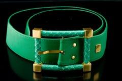 зеленый цвет пояса Стоковая Фотография