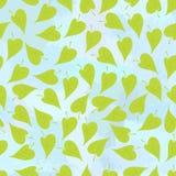 зеленый цвет предпосылки выходит безшовным Стоковое Изображение