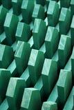 зеленый цвет предпосылки геометрический Стоковая Фотография