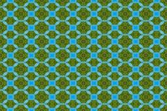 зеленый цвет предпосылки голубой безшовный Стоковая Фотография RF