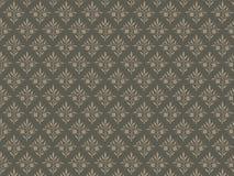 зеленый цвет предпосылки коричневый флористический Стоковое Фото