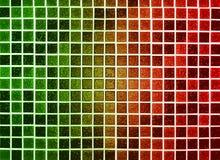 зеленый цвет предпосылки сделал пластичный красный цвет Стоковое Изображение