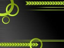 зеленый цвет предпосылки серый Стоковые Фотографии RF