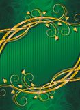 зеленый цвет предпосылки Стоковые Изображения