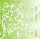 зеленый цвет предпосылки Стоковое Изображение