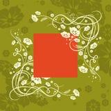 зеленый цвет предпосылки Стоковые Изображения RF