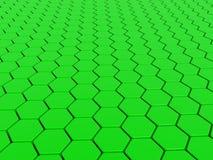 зеленый цвет предпосылки 3d Стоковое Фото