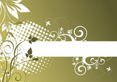 зеленый цвет предпосылки Стоковая Фотография RF