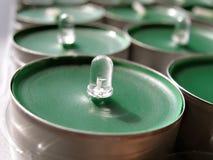 зеленый цвет принципиальной схемы вел технологию Стоковые Фотографии RF