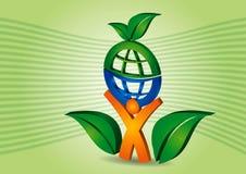 зеленый цвет принципиальной схемы Стоковое Изображение