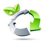 зеленый цвет принципиальной схемы Стоковые Фотографии RF