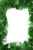зеленый цвет рамки рождества пустой стоковое изображение