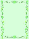 зеленый цвет рамки Стоковое фото RF