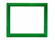 зеленый цвет рамок стоковое изображение rf
