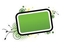 зеленый цвет рамок Стоковые Фотографии RF