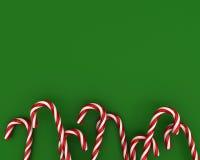 зеленый цвет рождества конфет предпосылки Бесплатная Иллюстрация