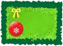 зеленый цвет рождества Стоковое Изображение RF
