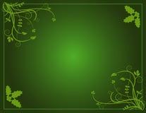 зеленый цвет рождества Стоковые Изображения RF