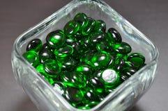 зеленый цвет самоцветов Стоковая Фотография