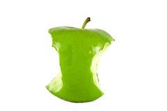 зеленый цвет сердечника яблока Стоковое Изображение