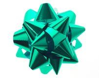 зеленый цвет смычка Стоковые Изображения RF