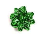 зеленый цвет смычка Стоковое Изображение