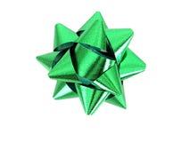 зеленый цвет смычка Стоковые Фотографии RF