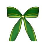 зеленый цвет смычка иллюстрация вектора